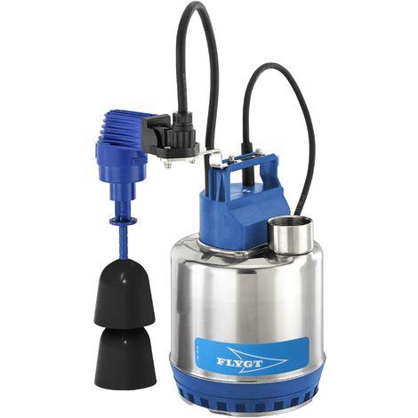 Pompe FLYGT vide cave STEELINOX pour eaux faiblement chargées - Débit max : 13,5 m3/h - Hauteur max : 11 m