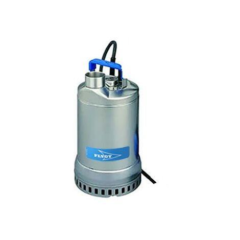 Pompe FLYGT vide cave STEELINOX pour eaux faiblement chargées - Débit max : 25 m3/h - Hauteur max : 20,5 m - Triphasé 400V 50Hz - 1,5 KW - type SX 15