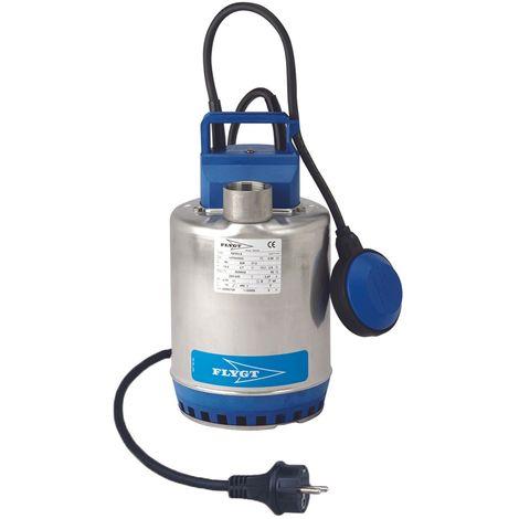 Pompe FLYGT vide cave STEELINOX pour eaux faiblement chargées - Débit max : 8 m3/h - Hauteur max : 7 m