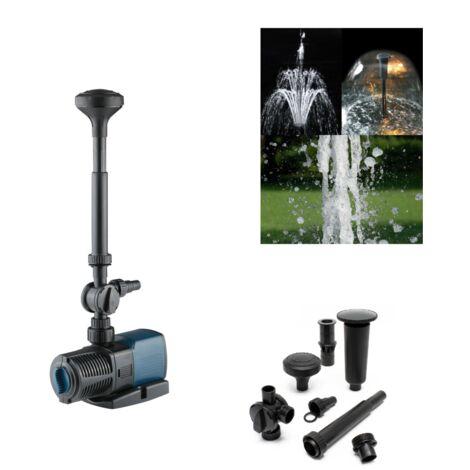 Pompe fontaine pour bassin réglable 7000l/h 50 w