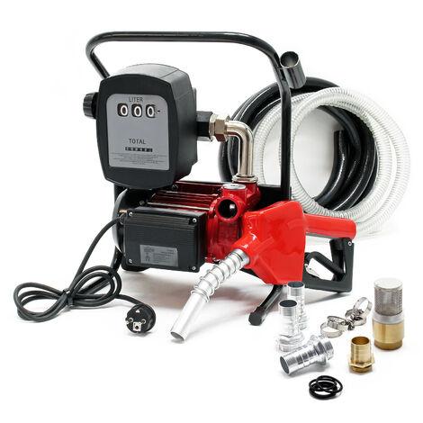 Pompe � Fuel ou Gasoil bio Autoaspirante 230V/600W 40l/min Mobile Pistolet Auto.