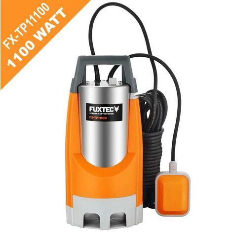 Pompe immergée 1100W FUXTEC FX-TP11100 - 15000 litres par heure