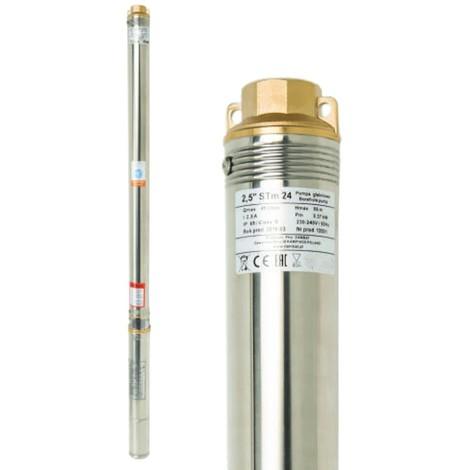 Pompe immergée 2,5'' STM 31, 45 l/min, 550W, 230V, résistance sable câble : 40 m
