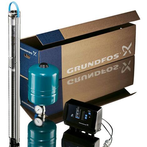 """Pompe immergée 3"""" Grundfos SQE365 1,15 kW jusqu'à 4,5 m3/h monophasé 220V"""