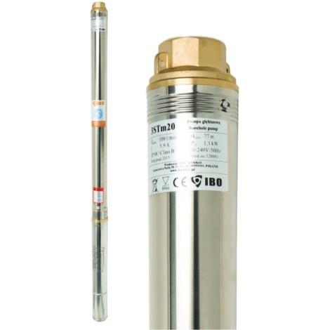 Pompe immergée 3 STM 16, 100 l/min, 750W, 230V, résistance sable