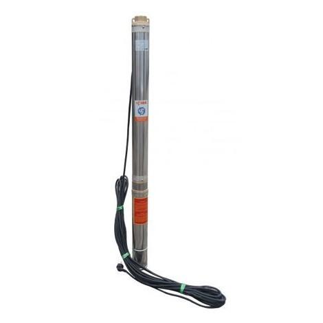 """Pompe immergée 4"""" SD 6/14 2200W 400V,162 l/min, triphasée, résistance sable"""