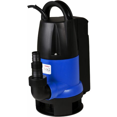 pompe immergée automatique à flotteur intégré 550w - vp550w - robby