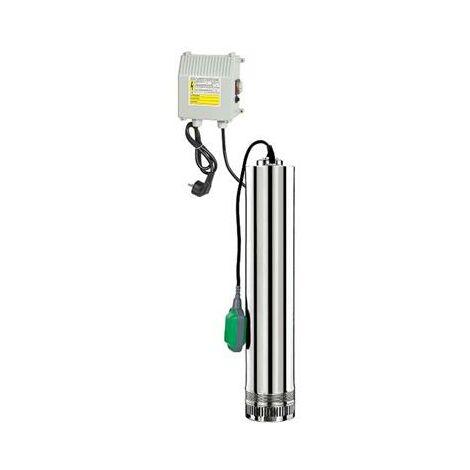 Pompe pour puits 750W avec flotteur