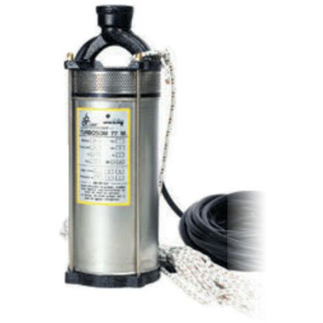 Pompe immergée DAB TURBOSOM77T 0,75 kW pour puit profond jusqu'à 2,4 m3/h triphasé 380V