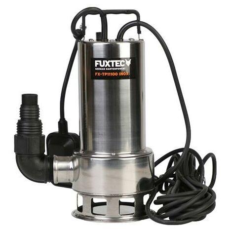 Pompe immergée en INOX 1100W FUXTEC FX-TP11100 - 15000 litres par heure