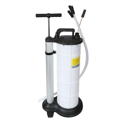 Pompe manuelle / Aspiration de vidange huile et fluide 9 Litres