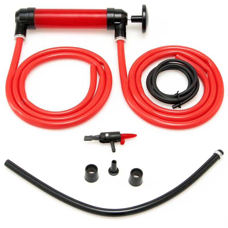 4 tuyaux /& accessoires inclus Pompe multi usage Pompe /à air Vidange