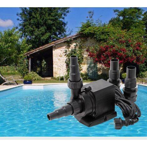 Pompe piscine de 10000 l/h ( 10 m3 ) - 80 W. Qualité et robustesse