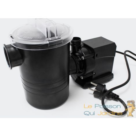 Pompe piscine de 5000 l/h - 70 W avec pré filtre de protection