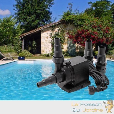 Pompe piscine de 8000 l/h - 70 W sans pré filtre de protection