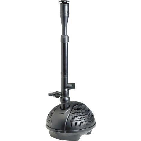 Pompe pour fontaine 1500 l/h Pontec 57123 avec raccord pour skimmer S39507