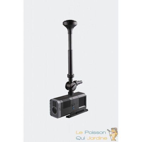 Pompe pour fontaine + préfiltre+ jets 3000 l/h - 55W Hauteur du jet 300 cm
