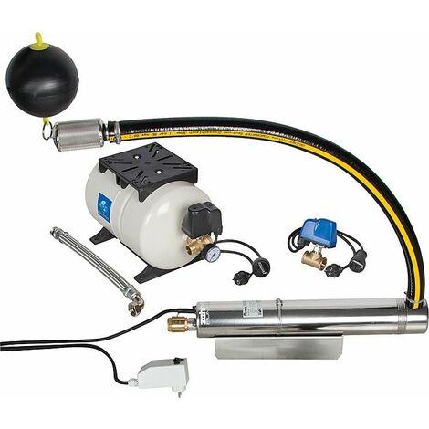 Pompe pour puit profond TM12-1, kit d'alimentation en eau avec prise d'eau flottante