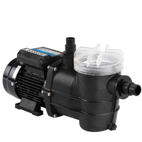 Pompe pour systèmes de filtration à sable IPX5 eau piscine au choix
