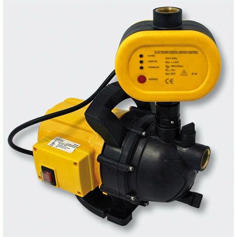 Pompe réseau d'eau domestique, portable, électrique 1200W / 3500l/h - Or