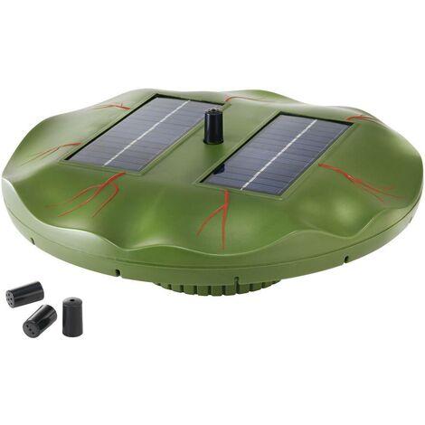 """Pompe solaire flottante pour bassin """"Nénuphar"""" S39585"""