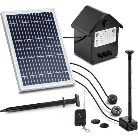 Pompe Solaire Fontaine Pour Bassin Uniprodo Module Photovoltaïque 3W,