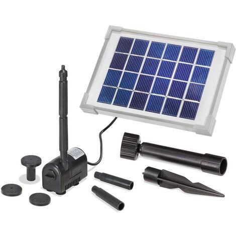 Pompe solaire pour bassin Rimini S 2W 175l/h Pompe solaire pour bassin de jardin esotec 101701