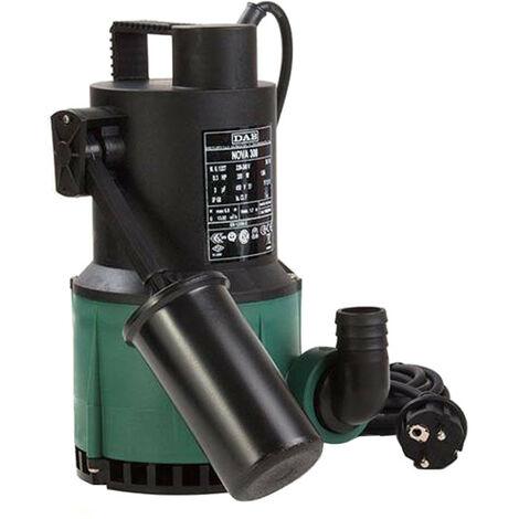 Pompe submersible dab NOVA 300 MA drainage des eaux claires 60194400H