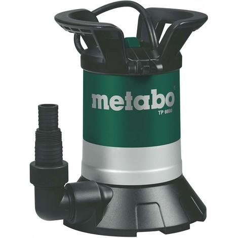 Pompe submersible eau claire 250W / 230 V / 50 Hz - Metabo TP6600S / 250660000