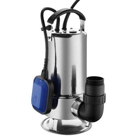 Pompe submersible Hyundai 750W INOX acier inoxydable / pompe à eau / pompe de bassin / pompe de piscine / pompe à eaux usées / 13000 litres par heure