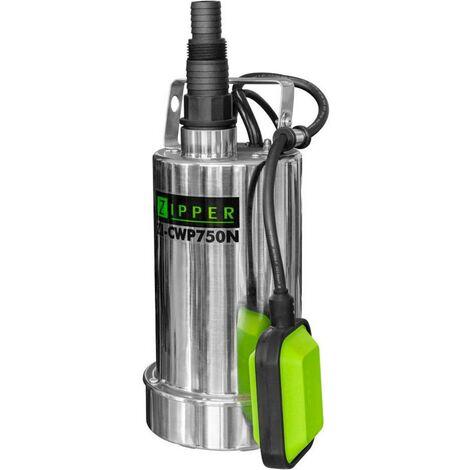 Pompe submersible pour eau claire Zipper ZI-CWP750N ZI-CWP750N 11 m³/h 8.5 m 1 pc(s)