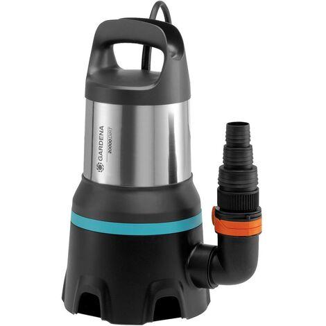 Pompe submersible pour eaux chargées GARDENA 20000 aquasensor 09044-61 20.000 l/h 9 m 1 pc(s)