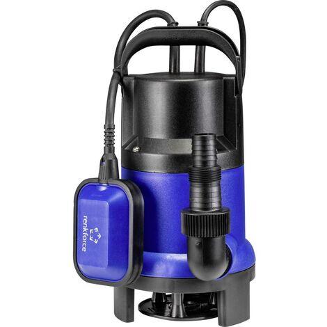 Pompe submersible pour eaux chargées Renkforce RF-4604768 8000 l/h 5 m 1 pc(s)