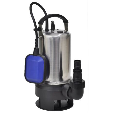 Pompe submersible pour eaux sales 1100 W 16500 L/h