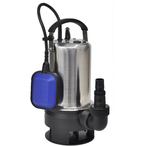 Pompe submersible pour eaux sales 750 W 12500 L/h