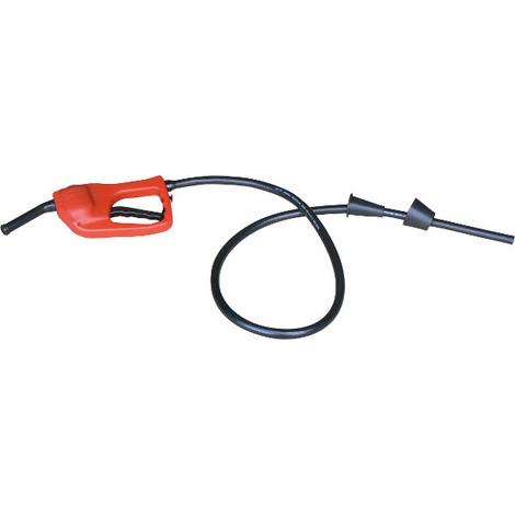Pompe syphon manuelle Gasoil Essence avec pistolet CEMO -S18795