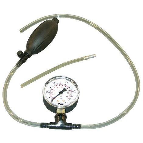 Pompe test pression carburateur Walbro, Zama et Tillotson