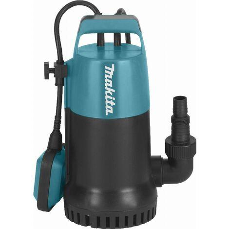 Pompe vide-cave à eau claire 800 W MAKITA - PF0800