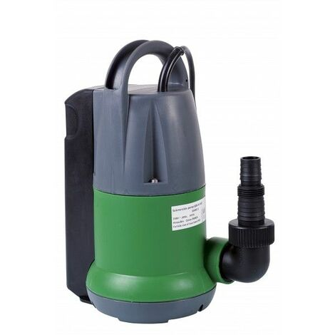 pompe vide-cave eaux claires 350w + interrupteur flotteur - prpvc350a - ribiland
