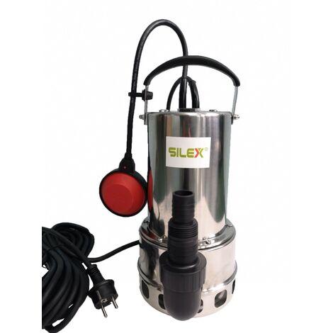 pompe vide cave inox submersible pour eau chargées ou claire 1100 W - Silex®