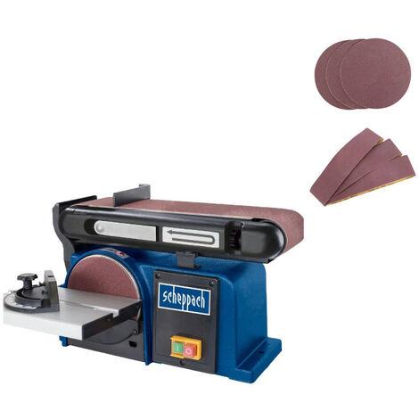 Ponceuse à bande et à disque SCHEPPACH 370W - BTS900