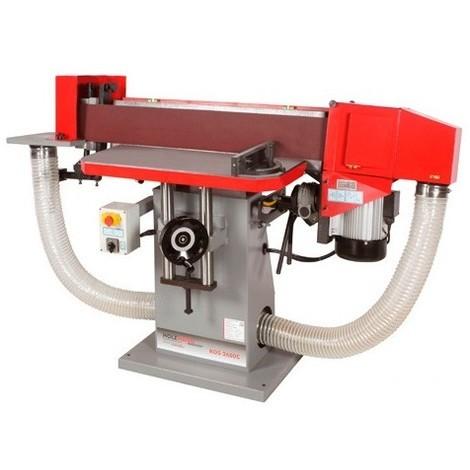 Ponceuse à bande oscillante 2600 x 150 mm 400 V - 3000 W KOS2600C - Holzmann - -