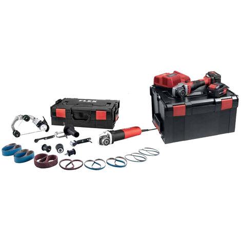 Ponceuse à bande Trinoxflex 18,0 V BRE 8-4 INOX Set+BME 18.0-EC FLEX - 505927