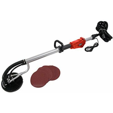 Ponceuse à bras avec barre d'extension 225 mm rouge - Rouge