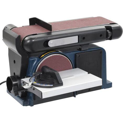 Ponceuse à disque et à bande électrique 370 W 150 mm