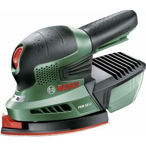 Ponceuse Bosch sans fil - multifonctions - bac à poussière - 550 watts