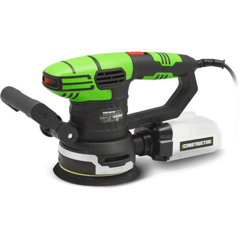 Ponceuse excentrique 450w - 125mm - Constructor