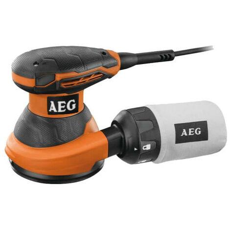 Ponceuse excentrique AEG 125mm 300W EX 125 ED-SET