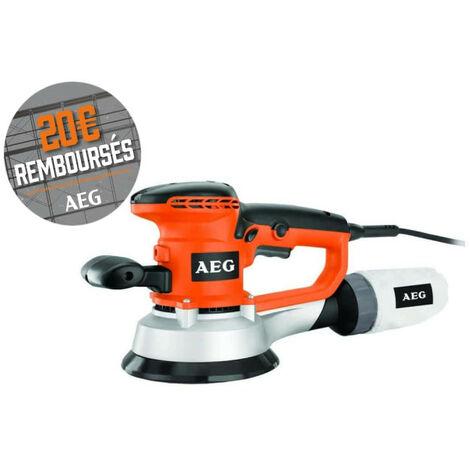 Ponceuse excentrique AEG 150mm 440 W EX 150 ED SET