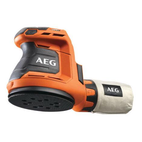 Ponceuse excentrique AEG 18V 125mm Li-ion sans batterie ni chargeur BEX18-125-0